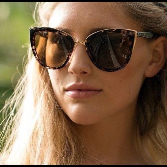 Quay Australia Damen Sonnenbrille MY GIRL tortoise brown zafDX